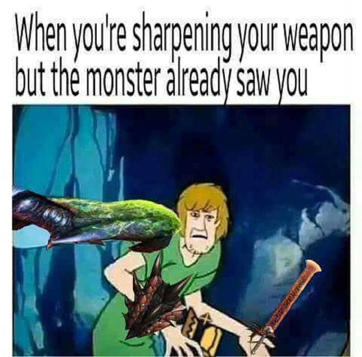 The unending weapon sharpening