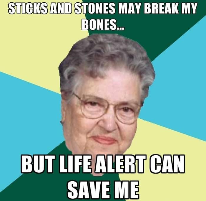 Life Alert Meme