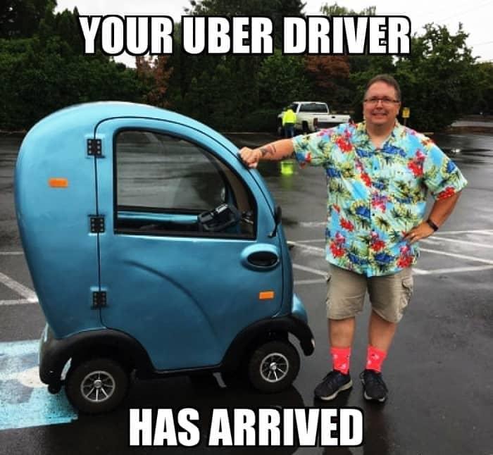 Uber driver meme