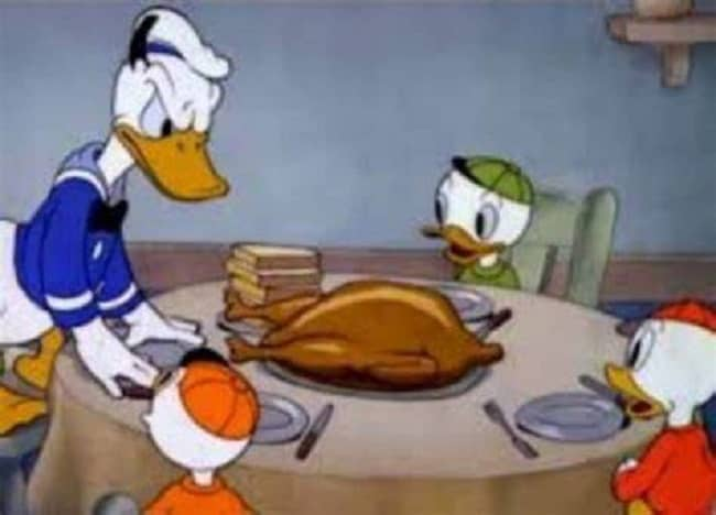 donald duck meme
