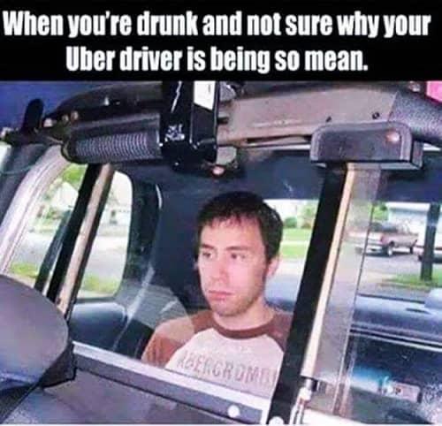 uber driver meme guy