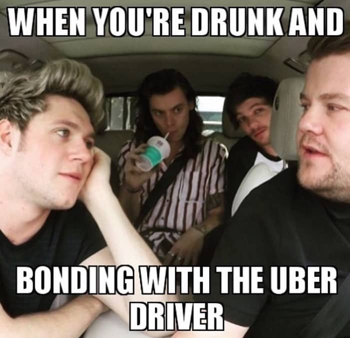 uber driver meme lost