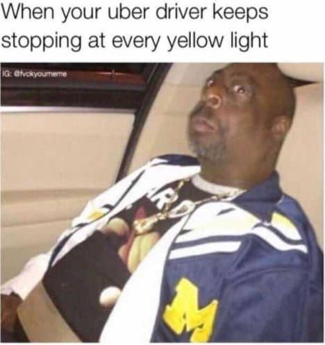 uber memes funny