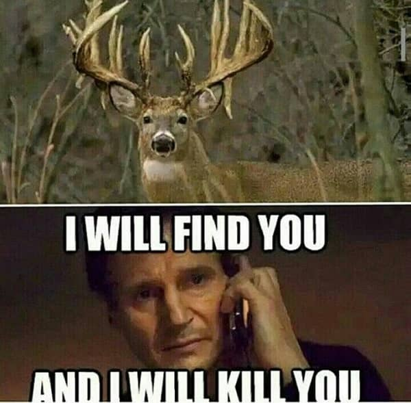 deer hunting meme 2020