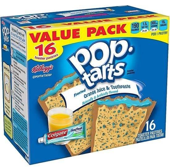 fake pop tart flavors