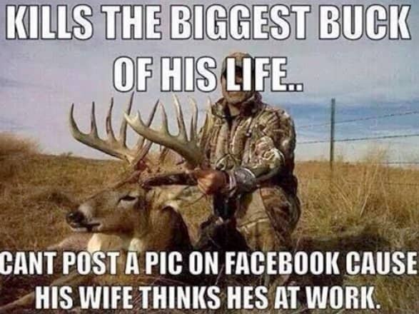 funny hunting memes for wives