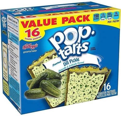 weird pop tart flavors fake